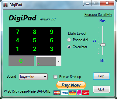 Click to view DigiPad screenshots